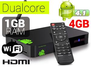 Android TV Dualcore Catchbox  4 GB