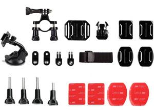 Kit Multi soportes para GoPro