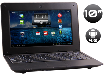 Netbook 10″ 2160P – 36 GB