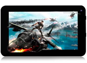 Tablet Black 7″ con HDMI – Quadcore – 40 GB – FUNDA CON TECLADO