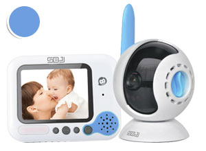 Baby Monitor 2.4 GHz Wireless 200 metros