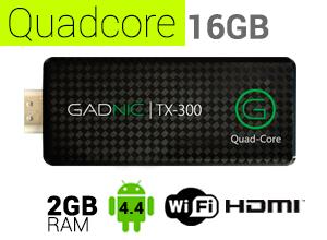 Mini PC GADNIC | TX-300 QuadCore 16GB