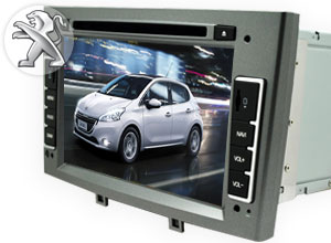 ESTEREO-GPS-DVD para Autos Peugeot | AS-8708