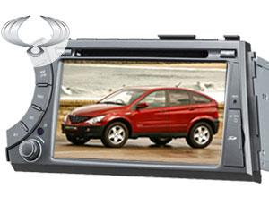 ESTEREO-GPS-DVD para Auto Ssangyong | AS-8809