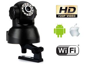 Cámara Seguridad HD P2P Wifi Domo Motorizado