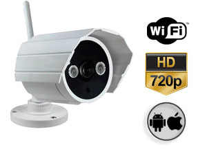 Cámara de Seguridad Gadnic CSE 48 HD P2P | IP | Wifi