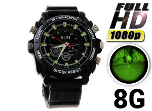 Reloj Infrarrojo Sumergible Sports FullWatch HD 8G