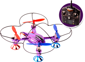 Cuadricóptero WLToys Mini SkyLark 2,4Ghz V252