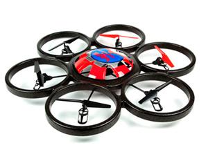 Hexacóptero Drone WLToys FPV Giant SkyWalker
