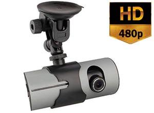Cámara para Auto R300 GPS HD 480P Doble Lente