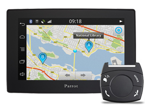 Parrot Asteroid GPS Tablet