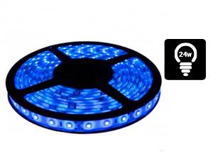 Tira de Led 3528 Interior 60/m Azul