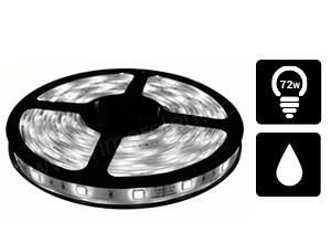 Tira de Led 5050 Interior 60/M Blanco Frio