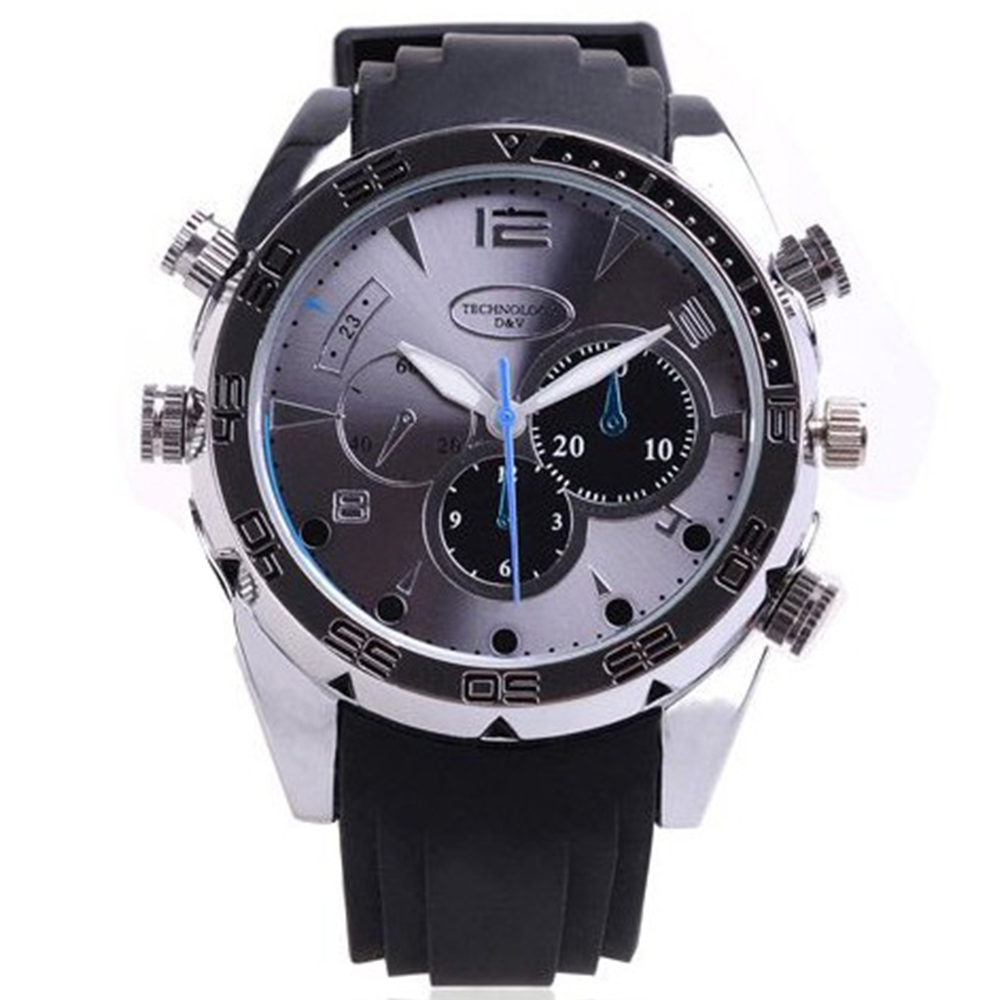 e280c51afddd Reloj Infrarrojo Sumergible Detective Watch Full HD
