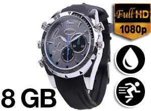 Reloj Infrarrojo Sumergible Detective Watch Full HD
