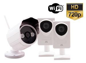 Kit Cámara Seguridad para el Hogar P2P | IP | Wifi