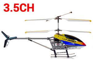 Helicóptero RC MJX T38 de interior 3.5CH Con Giróscopo