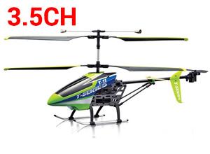 Helicóptero RC T11 de Exterior e Interior 3.5CH