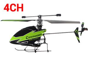 Helicóptero RC V911-1 de Exterior e Interior 4CH