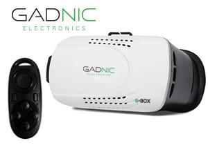 Lente Realidad Virtual GADNIC G-Box + Control Remoto