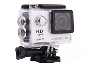 Cámara Gadnic G9| FULL HD 1080p|Waterproof |12 Mpx