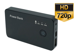 Mini Camara Power Bank Espia 720p