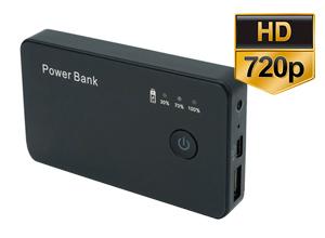 Mini Camara Power Bank Espia 720p