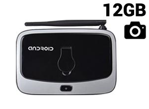 TV BOX Cámara Android |1080P QuadCore 12GB