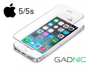 Vidrio Templado Gadnic Iphone 5 y 5S