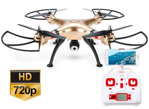 Drone Syma con Camara Explorers X8HW FPV