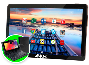 Tablet Ankar Android MOV 7 8GB – Funda con Teclado