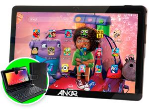 Tablet Ankar KIDS Android MOV 7 8GB – Funda con Teclado