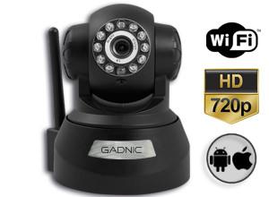 Cámara de Seguridad Gadnic CS11 HD P2P | IP | Wifi | Domo Motorizado