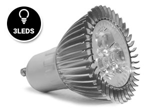 Dicroica Led 3W 6000-6500K