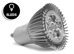 Dicroica Led 5W 6000-6500K