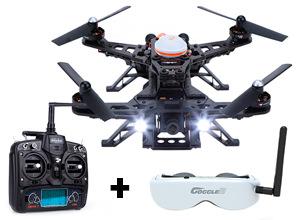 Drone de Carrera Walkera F250 + Anteojos Realidad Virtual Goggle 2