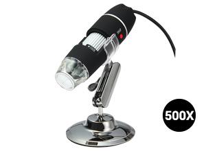 Microscopio Digital con Cámara U500X | 1.3 MPx