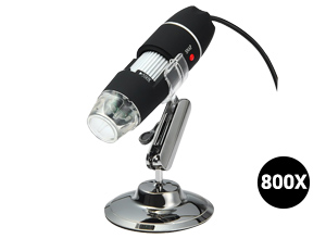 Microscopio Digital con Cámara U800X   2MPx