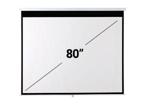 Pantalla Proyector Gadnic 80″ Manual