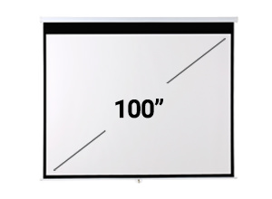 Pantalla Proyector Gadnic 100″ Manual