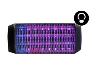 Parlante con luces led GADNIC | Bluetooth | SP01