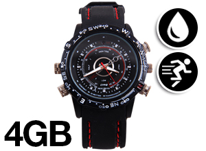 Reloj Espía Sumergible HydroWatch 4GB