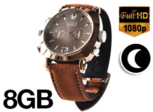 Reloj Espía Leather Spy 8GB