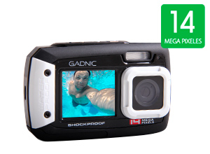 Cámara Gadnic XP 100 | Waterproof / Shockproof 14 Mpx