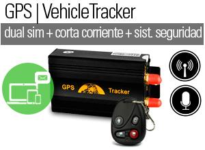 GPS VEHICLE TRACKER GPS|SMS|GPRS DUAL SIM + Licencia Anual