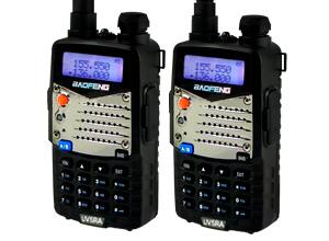 Kit 2 Handies Baofeng UV5RA