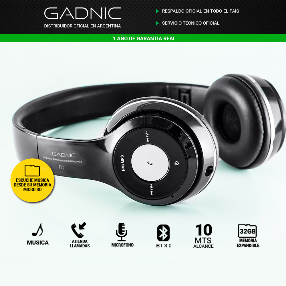 cb153629499 Auriculares Bluetooth Gadnic T11  https://www.youtube.com/embed/P-U8kVc1cmM?rel=0 Video del: ABLUE29N  2016-12-22 17:25:58