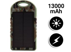 Cargador Solar Gadnic 13000 mAh Waterproof