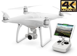 Drone DJI Phantom 4 + 2 Baterias Extras