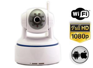 Cámara Seguridad Gadnic CS60 FULL HD P2P | IP | Wifi | Domo Motorizado